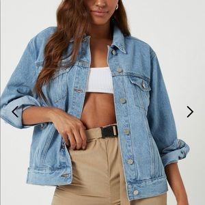 NEW blue denim jacket